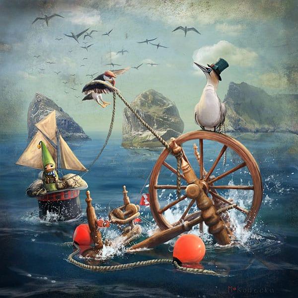 Saviours of the Spinning Wheel, St Kilda