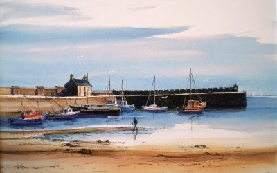 Tide Out, Saltcoats