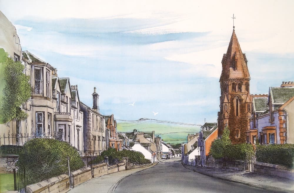 West Kilbride Village